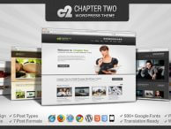 Chapter Two WP Theme | Oitentaecinco Themes Portfolio