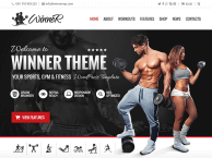 Winner WP Theme | Oitentaecinco Themes Portfolio